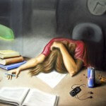 Το άγχος των πανελληνίων εξετάσεων